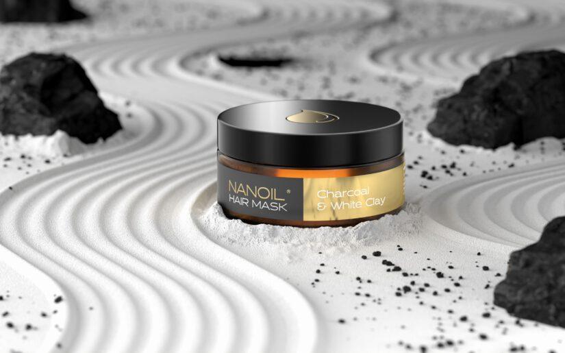 nanoil aktivkohle und weißer Tonerde