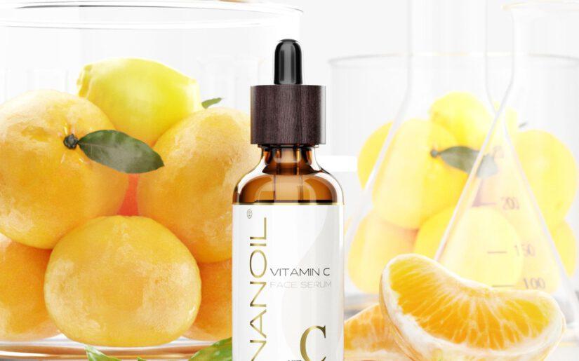 nanoil gesichtsserum mit vitamin c